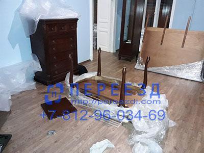 Переезд с упаковкой мебели с грузчиками
