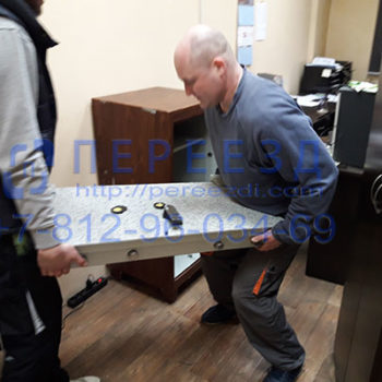 Демонтаж сейфов, перевозка сейфов по Санкт-Петербургу