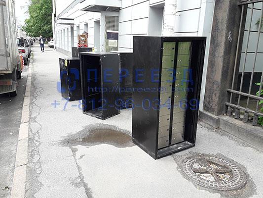 Перевозка сейфа по СПБ недорого